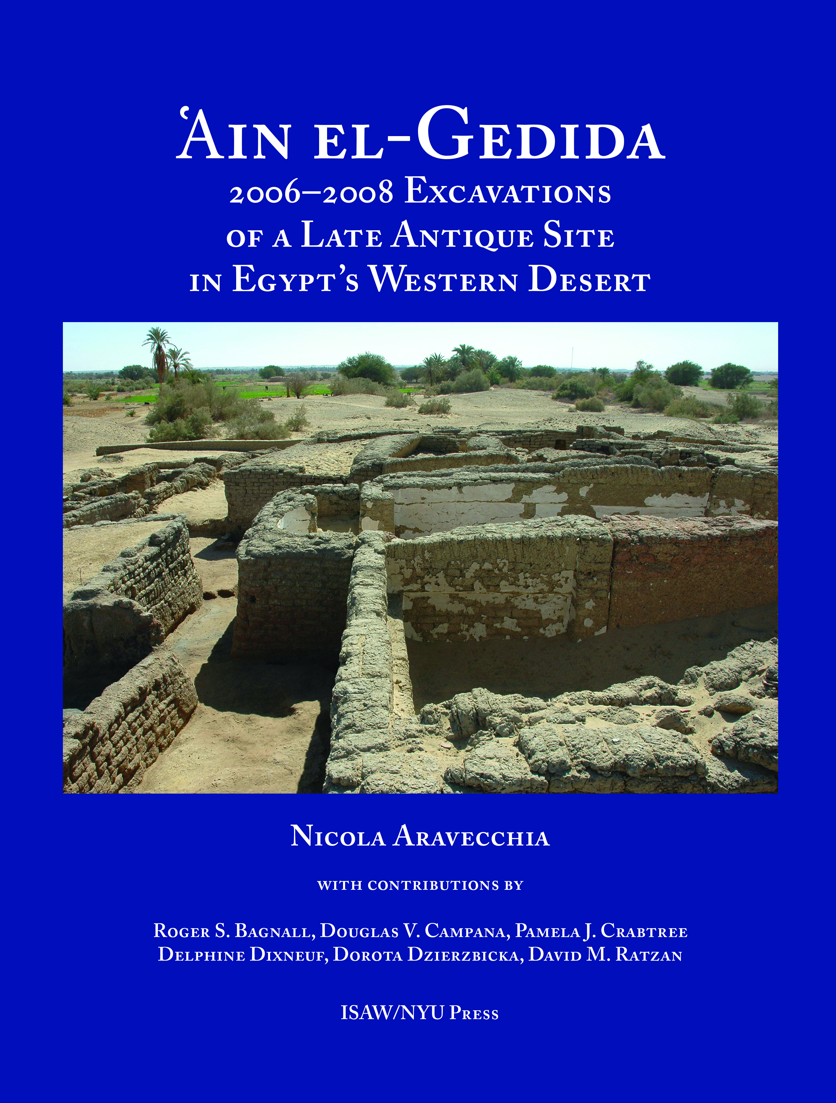 'Ain el-Gedida: 2006-2008 Excavations of a Late Antique Site in Egypt's Western Desert