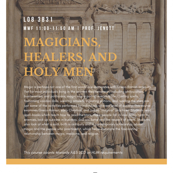 Magicians, Healers, and Holy Men