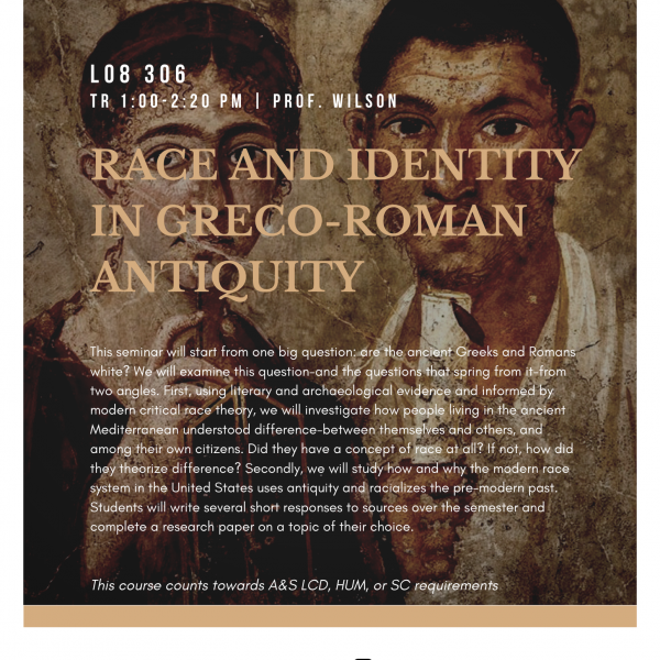 Race and Identity in Greco-Roman Antiquity