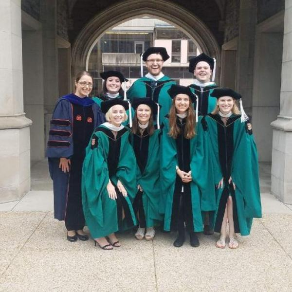 Seven MA students graduate in May