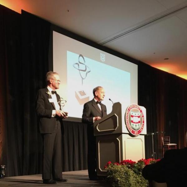 John Biggs Given Search Award by Eliot Society