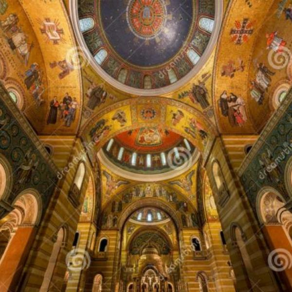 Grex Ludouicopolitanus visits the St. Louis Cathedral Basilica