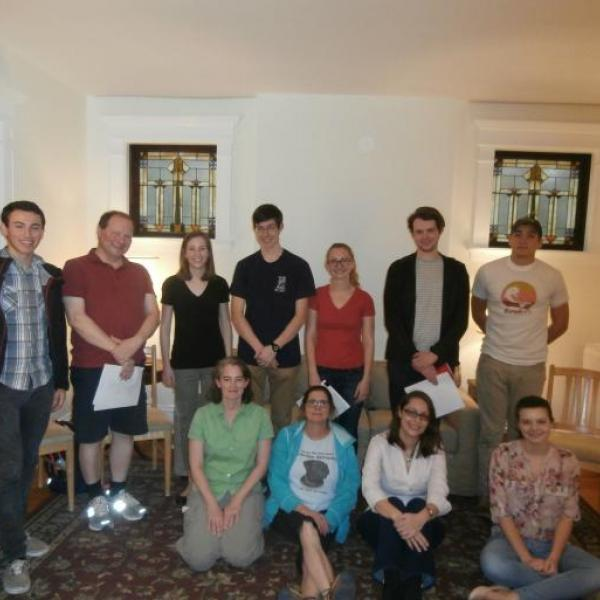 WashU Classics Club sponsors reading of William Lyons's Socrates and His Clouds