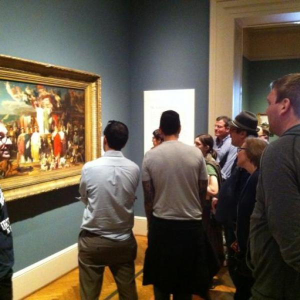 Grex Ludouicopolitanus visits St. Louis Art Museum for February Meeting