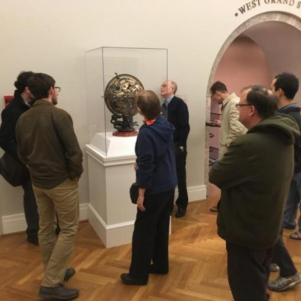 The Grex Ludouicopolitanus enjoys last meeting of the semester at St. Louis Art Museum