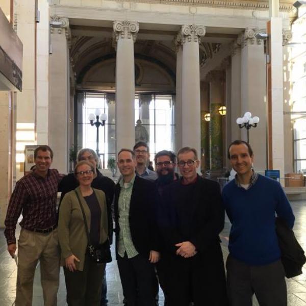 Grex Ludouicopolitanus visits Missouri History Museum