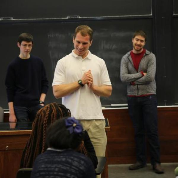 WashU Classics Faculty and Students share mythology with local students