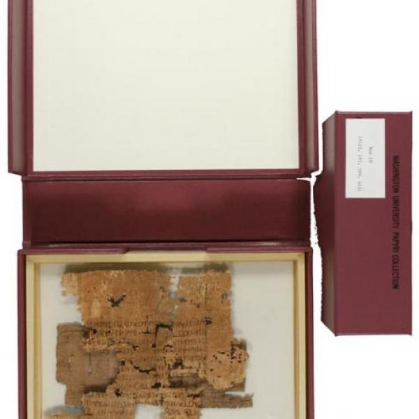 Papyri Collection Highlighted in University Libraries' Blog