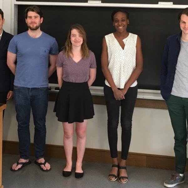 Classics Undergrads Present at Research Colloquium