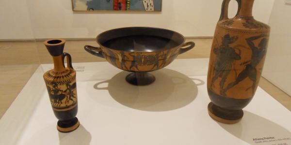 Greek Vases in the Kemper Art Museum